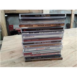 Lot of Apx. 18 CD's