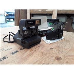 Vintage Polaroid and FujiFilm Cameras