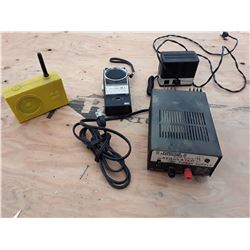 """DC Power Supply, and """"Realistic"""" Tranciever Radio and More"""