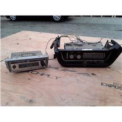 Vintage Oldsmobile Radio and Channel Master