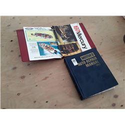 Auto Repair Manual, 1969 + Boat Manuals