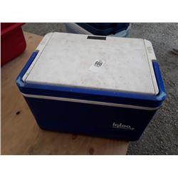 Small Blue Igloo Cooler