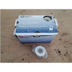 Commmercial Electric White Gimbal Light Housing Kit