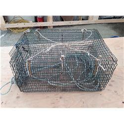 "1 Fishing Trap 24""x17""x12"""