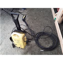 Karcher Pressure Washer W/Wand (not tested)
