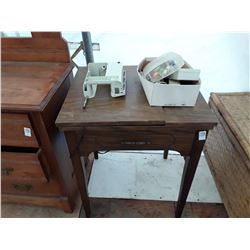 Sewing Cabinet W/Contents