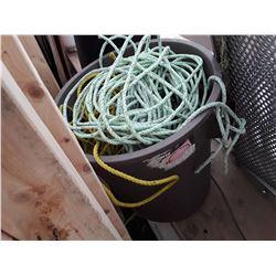 Bin of Fishing Rope