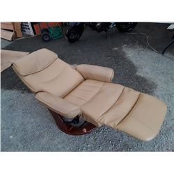 Leather Recling Chair