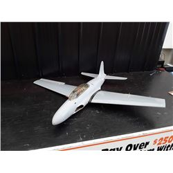 "Grey Jet Style RC Plane With Electric Motor - 48"" Wingspan"