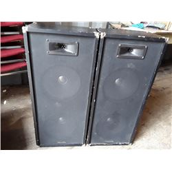 2 Realistic Tower Speakers