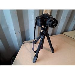 Panasonic Lumix Digital Camera With Tripod - Mega O.I.S. and 12x Zoom