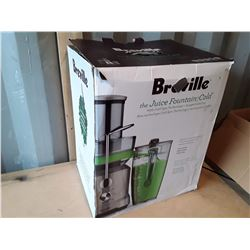 "Breville ""The Juice Fountain Cold Juicer"" In Box"