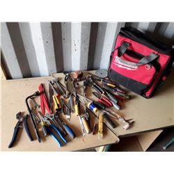 Milwaukee Tool Bag With Tools/Contents