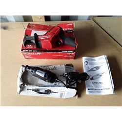 "Milwaukee Cordless ""Hackzall"" Reciprocating Saw With Box and Dremel 100 Series With Box"