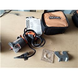 Ridgid 1 1/2 Peak HP Compact Router In Case
