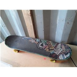 Skateboard With Team Thunder Trucks and Penny Wheels