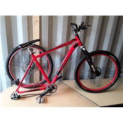 Jamis Trailx (T6 6061) Aluminum Frame Mountain Bike - Red