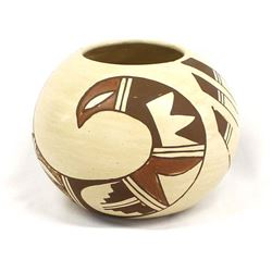 Hopi Pottery Bowl by K. Collateta