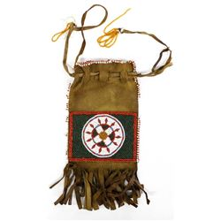 Vintage Plains Indian Beaded Bag