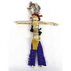 Native American Paiute Cattail Reed Doll
