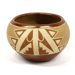 Vintage San Juan Pottery Bowl, Gregorita Trujillo