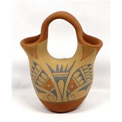 Jemez Pottery Wedding Vase by Rachel Sandia