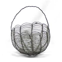 Vintage Tohono O'odham Wire Basket