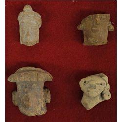 PreColumbian Pottery Head Throws