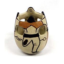Tohono O'odham Friendship Pot by Angea