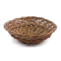 Vintage Native American Cherokee Willow Basket