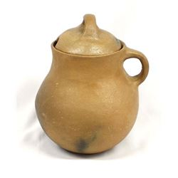 Taos Pueblo Micaceous Clay Covered Pitcher