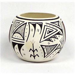 Isleta Pottery Bowl