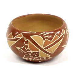 Santa Clara Pottery Bowl by John & Mary J.
