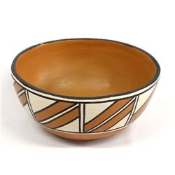 Santo Domingo Pottery Dough Bowl by A.M.T. Lovato