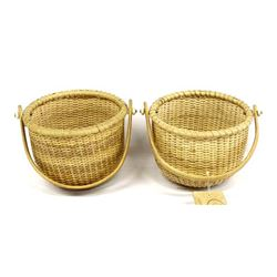 Pair of Nantucket Home Hand Crafted Baskets