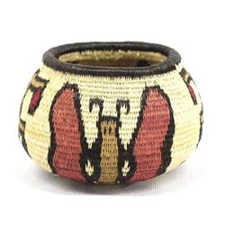 Wounaan Rainforest Butterfly Basket