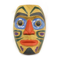 Northwest Coast Carved Wood Mask