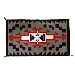 Native American Navajo Klagetoh Wool Textile Rug