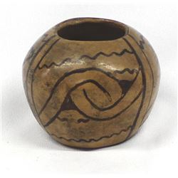 Historic Native American Pima Pottery Jar