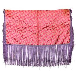 Native American Navajo Fringed Dance Shawl