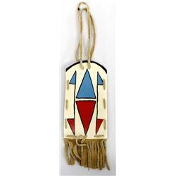 Native American Hand Painted Parfleche Pouch