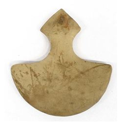 Carved Stone Ulu Knife