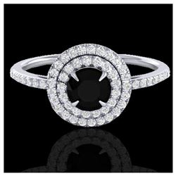 1.18 ctw H-SI/I Diamond Solitaire Ring 10K White Gold