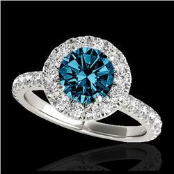 14.16 ctw Ruby & Diamond Earrings 14K Rose Gold