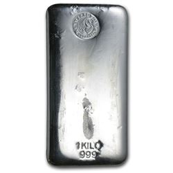 1 kilo Silver Bar - Perth Mint