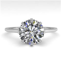 65.29 ctw Sapphire & Diamond Necklace 14K White Gold