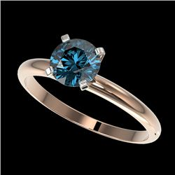 1.50 ctw H-SI/I Diamond Solitaire Ring 10K Rose Gold