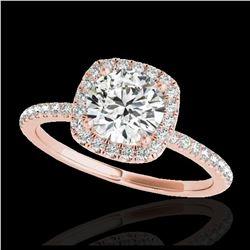 111.75 ctw Emerald & Diamond Necklace 14K Rose Gold