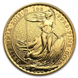 2015 Great Britain 1 oz Gold Britannia BU