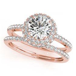 49.17 ctw Ruby & Diamond Bracelet 14K Rose Gold